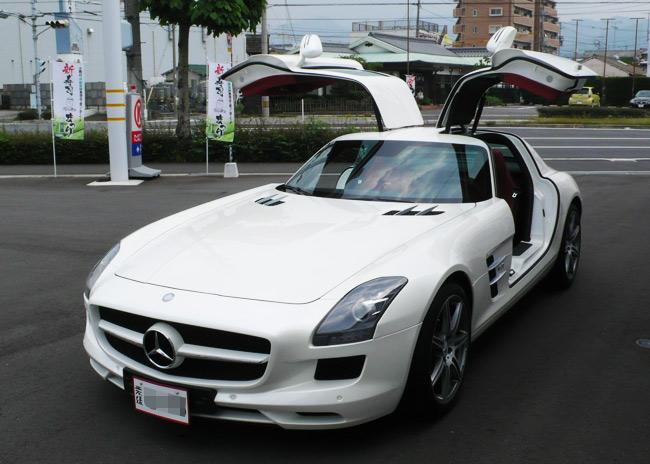 メルセデス・ベンツ SLS AMGを愛媛で納車いたしました。