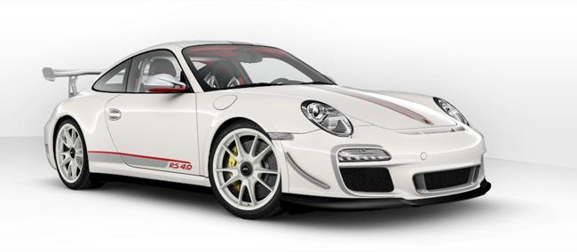 ポルシェ 911 GT3 RS 4.0 予約受注開始!